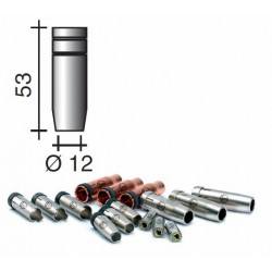 Buse gaz d.12mm Lg.53mm