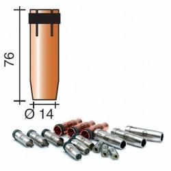 Buse gaz d.14mm Lg.76mm
