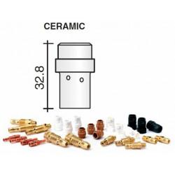 Diffuseur gaz en céramique blanc Lg.32,8mm