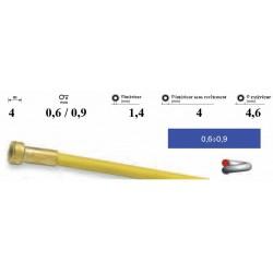 Gaine pour fil 0,6/0,9 Lg.4 mètres revêtue