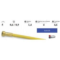 Gaine pour fil 0,6/0,9mm Lg.5 mètres revêtue