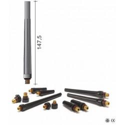 Bouchon long 147,5mm pour torche TIG 9/20