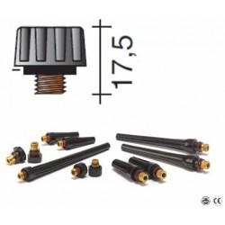 Bouchon court Lg.17,5mm pour torche TIG 9/20