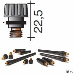Bouchon court Lg.22,5mm pour torche TIG 17/18/26