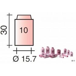 Buse Gr.10 d.15,7mm Lg.30mm pour torche TIG 9/20