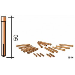 Pince D.1.6mm Lg.50mm pour torche TIG 17/18/26