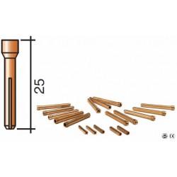 Pince D.2.4mm Lg.25mm pour torche TIG 9 et 20