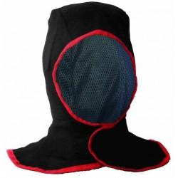 Protection tête & cou en coton ignifugée.