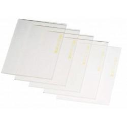 Protection 110 x 90 x 1mm en polycarbonate incolore.