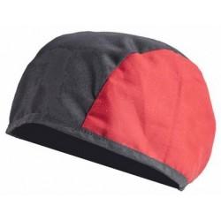 Protection tête en coton ignifugée.